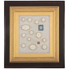 Italian Grand Tour Framed Intaglio Collection