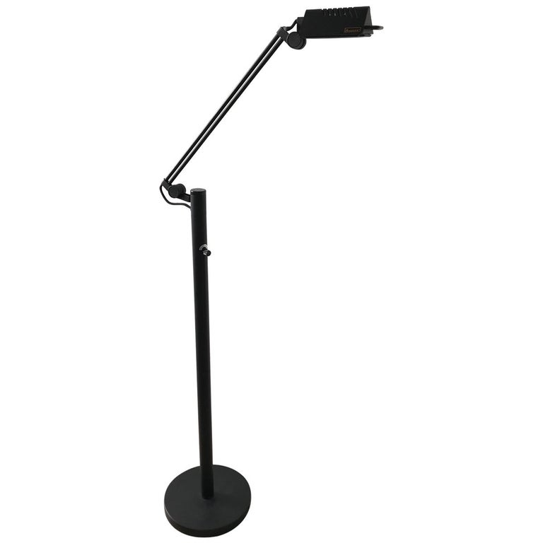 Postmodern Adjustable Floor or Reading Lamp by Access