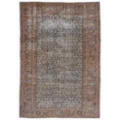 Antique Mahal Carpet, circa 1920s