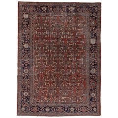 Early 20th Century Mahal Carpet