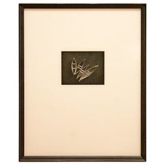 Mid-Century Modern Framed Black and White Michael Kenna Photograph