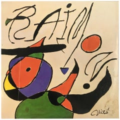 Joan Miró Vinyl Record Art, 1979 Miró, Raimon