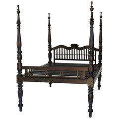 Four Poster Colonial Bed from Sri Lanka