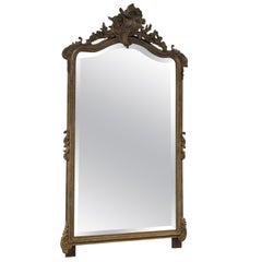 20th Century French Gold Painted Mirror
