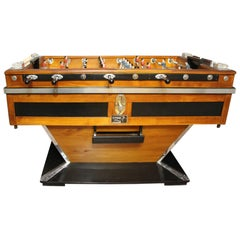 Midcentury French Cafe's Foosball Table