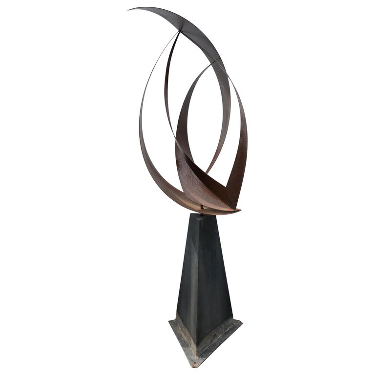 Large Mid-Century Modern Abstract Garden Sculpture