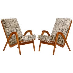 Midcentury Armchairs, 1960s, Set of Two