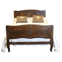 French Provincial Bed, WD25