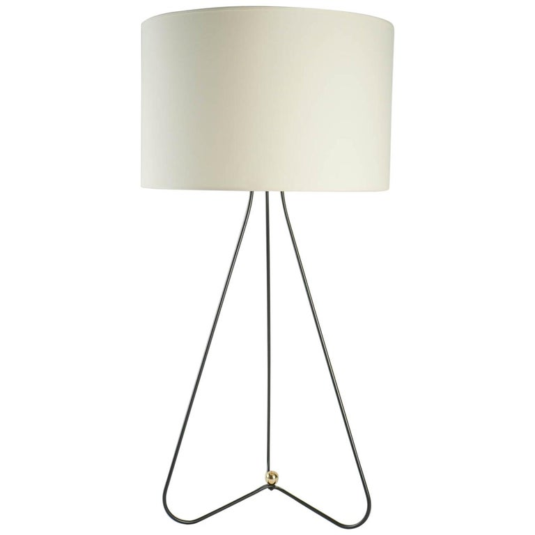 1950s Tall Maison Lunel Table Lamp