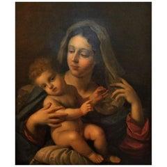"""Antonio Allegri da Correggio """"Madonna and Child"""""""