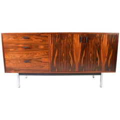 Jack Cartwright for Founders Brazilian Rosewood Credenza-5'