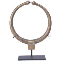 Late 19th Century Bronze Torque Necklace