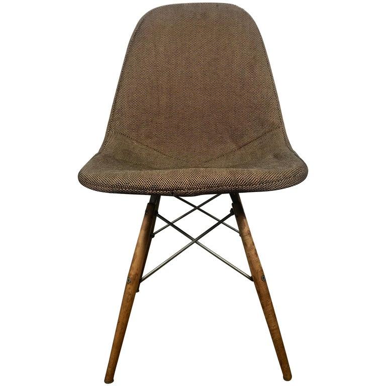 Early Charles Eames Dowel Leg Chair, 1950s DKW-2 Herman Miller