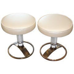 Charles Hollis Jones Pair of Stools