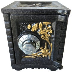"""Combination"" Safe Still Bank, American, circa 1970"