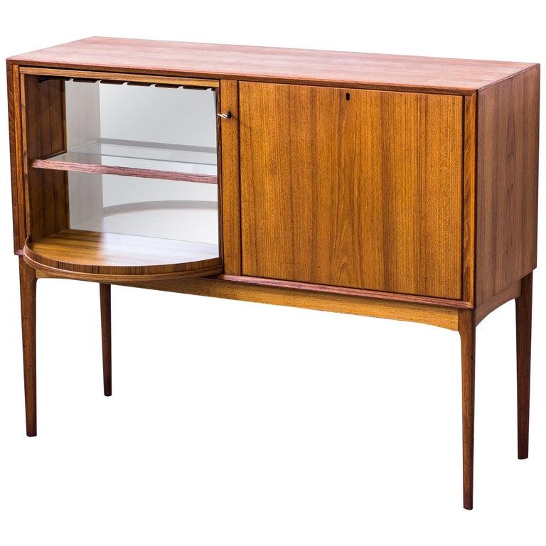 Bar Cabinet in Teak by Torbjørn Afdal from Mellemstrand, Norway, 1950s