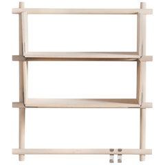 Foldin Shelf Three Holes Two Shelves with Two Hooks