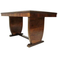 Italian Wooden Dining Table, 1940s
