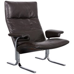 De Sede DS 2030 Leather Armchair Brown One-Seat
