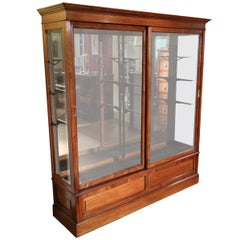 Beautiful 19th Century  Mahogany Display Cabinet