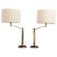 20th Century Pair of Deco Table Lamps