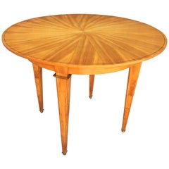 Elegant Art Deco Table in the Style of André Arbus, circa 1940