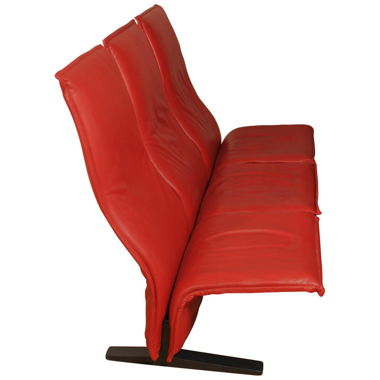 Rare Concorde Settee by Pierre Paulin for Artifort
