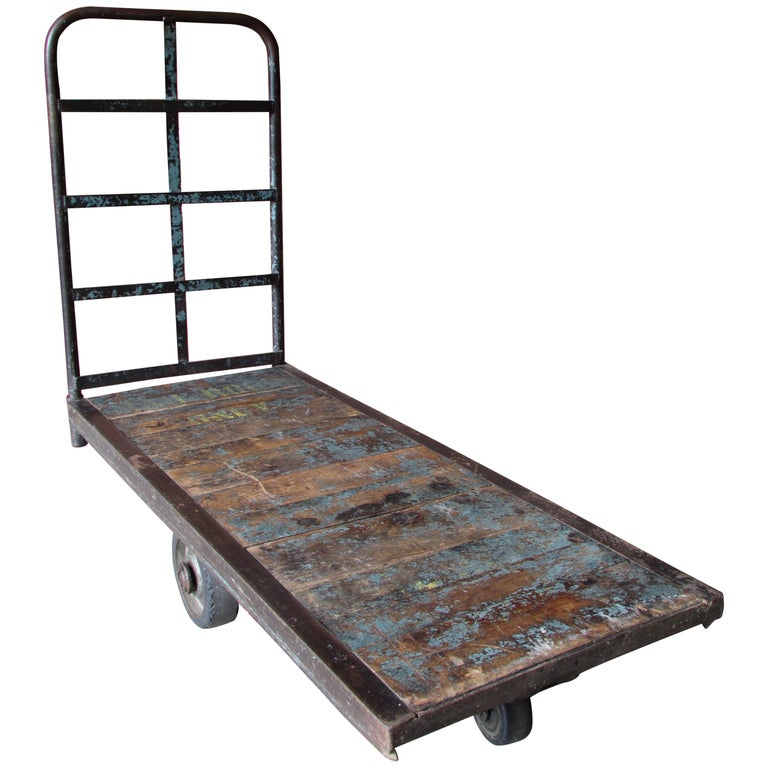 Industrial Mail Room Cart For Sale
