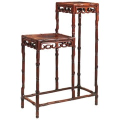 19th Century Chinese Hardwood Display Table or Stand