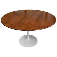 1960 Saarinen Walnut Tulip Table