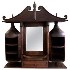 Unusual Wooden Cabinet