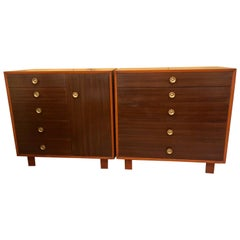 Pair of George Nelson Design for Herman Miller Chests / Dressers / Commodes