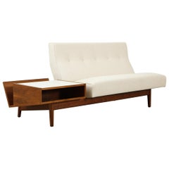 Jens Risom Sofa with Magazine Table