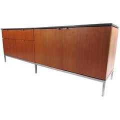 Knoll International Slate Top Credenza