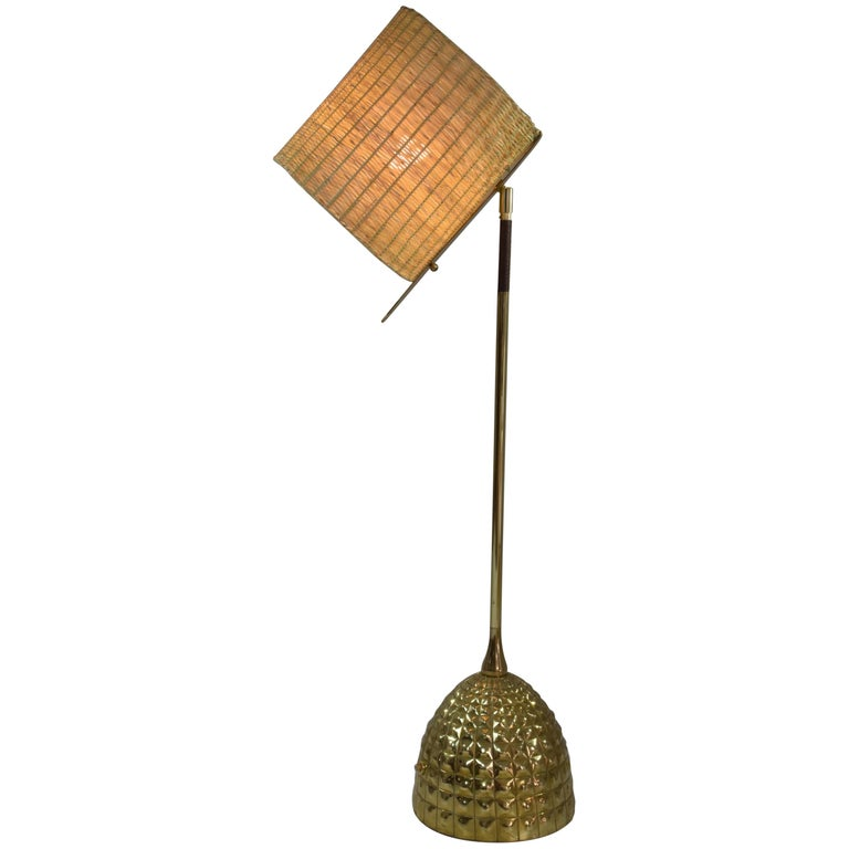 Infinitus.VI MII Contemporary Wicker Lamp, Flow Collection For Sale