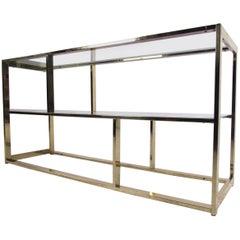 Modern Three-Tier Bookcase