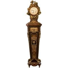 Antique French Louis XIV Longcase Clock, circa 1850-1880