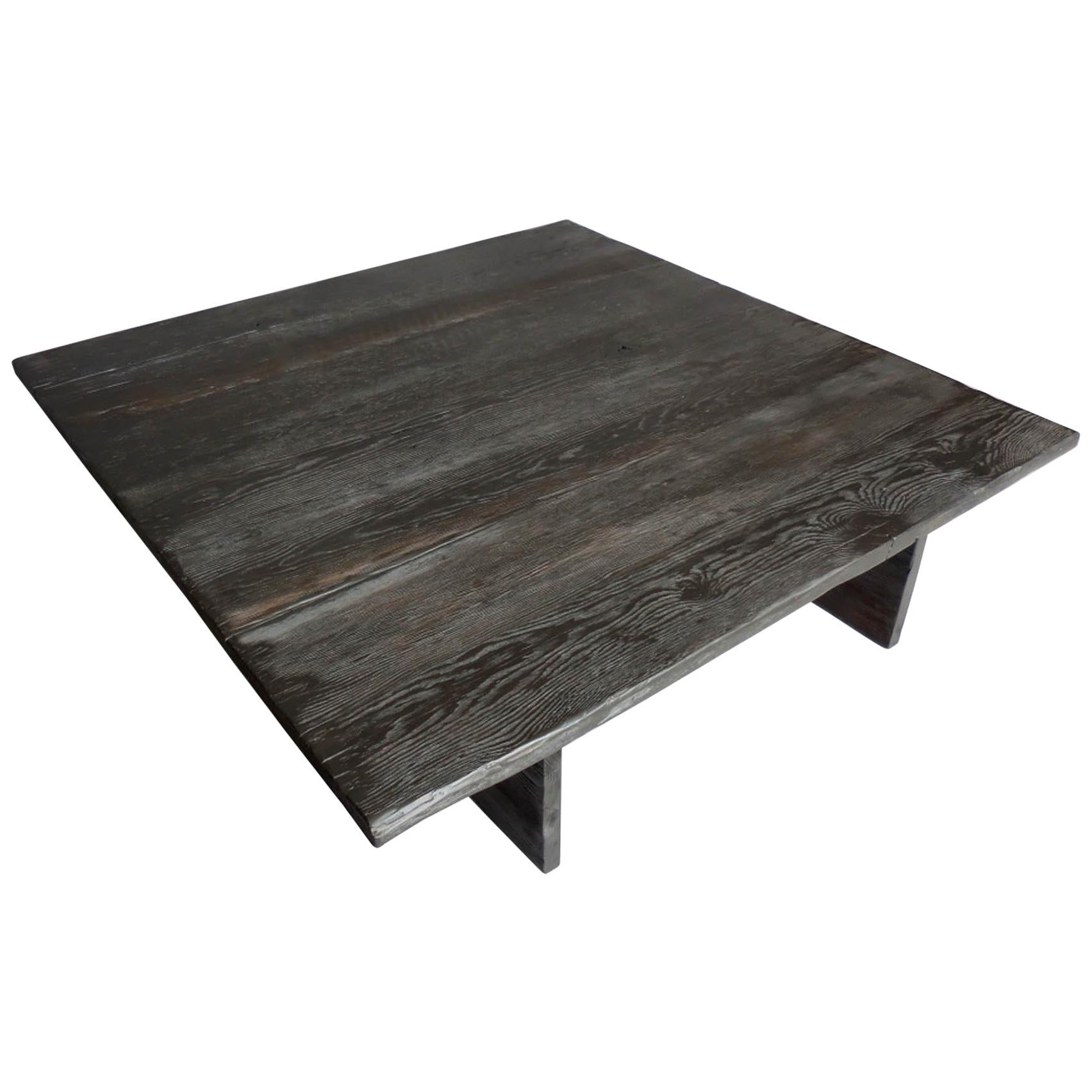 Custom Rustic Modern Coffee Table