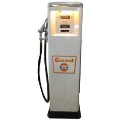 1950s Rare Gulf Gas Pump