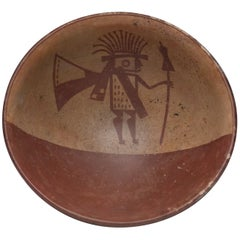 Pre-Columbian Narino Warrior Bowl