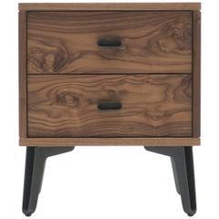 McQueen Bedside Dresser in Walnut by Matthew Hilton