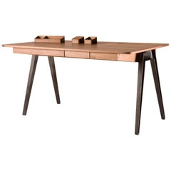 Orson Desk in Walnut by Matthew Hilton