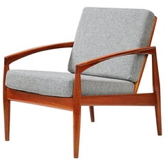 Kai Kristiansen Paper Knife Chair Teak, Grey