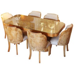 Harry & Lou Epstein Art Deco Dining Suite