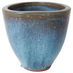 Unique Farsta Stoneware Vase by Wilhelm Kåge Gustavsberg, 1960