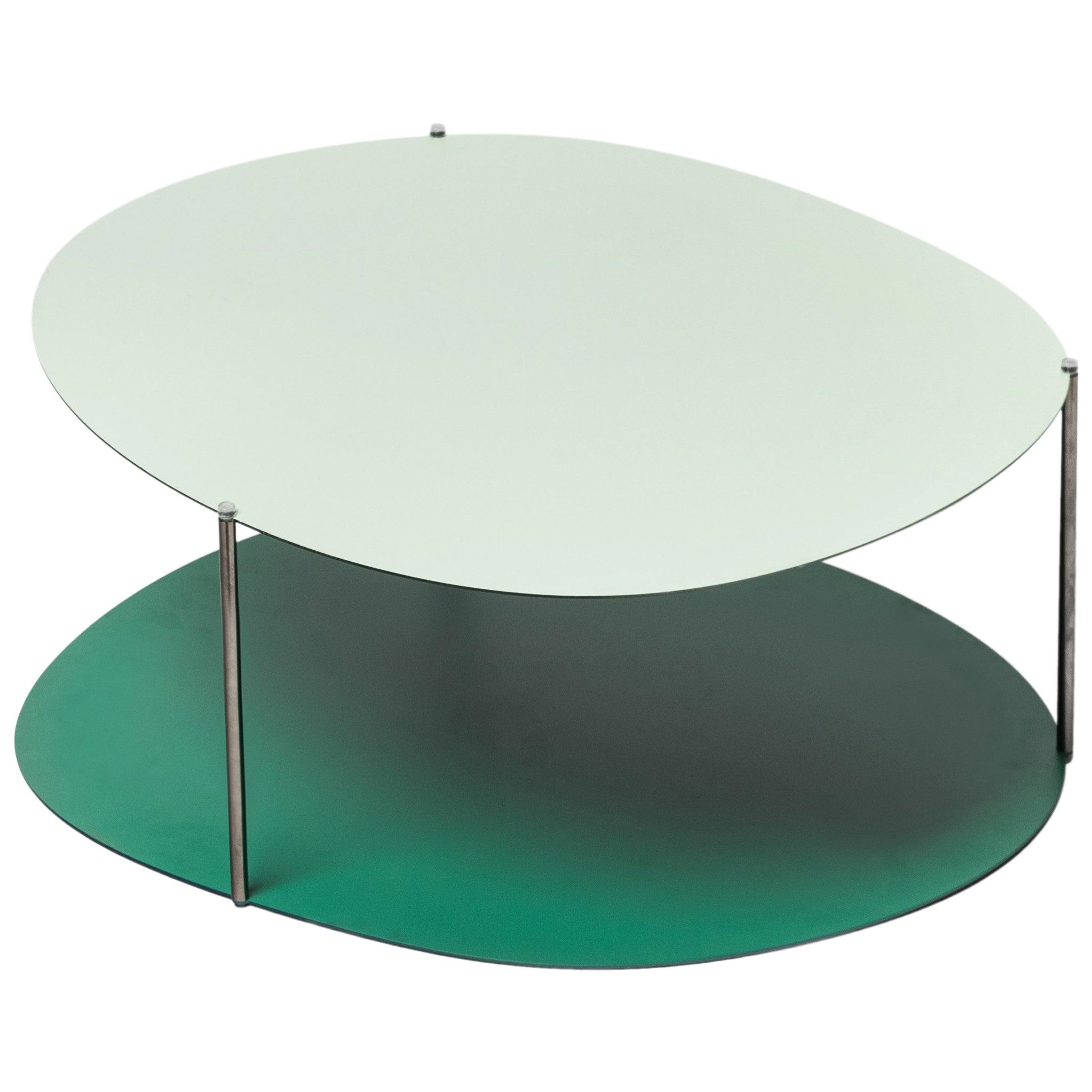 Baleri Italia Large Picos Coffee Table in Steel by Claesson Koivisto Rune