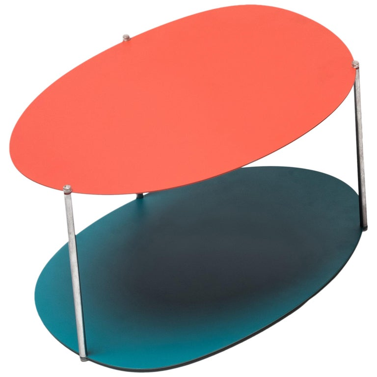 Baleri Italia Medium Picos Coffee Table in Steel by Claesson Koivisto Rune For Sale