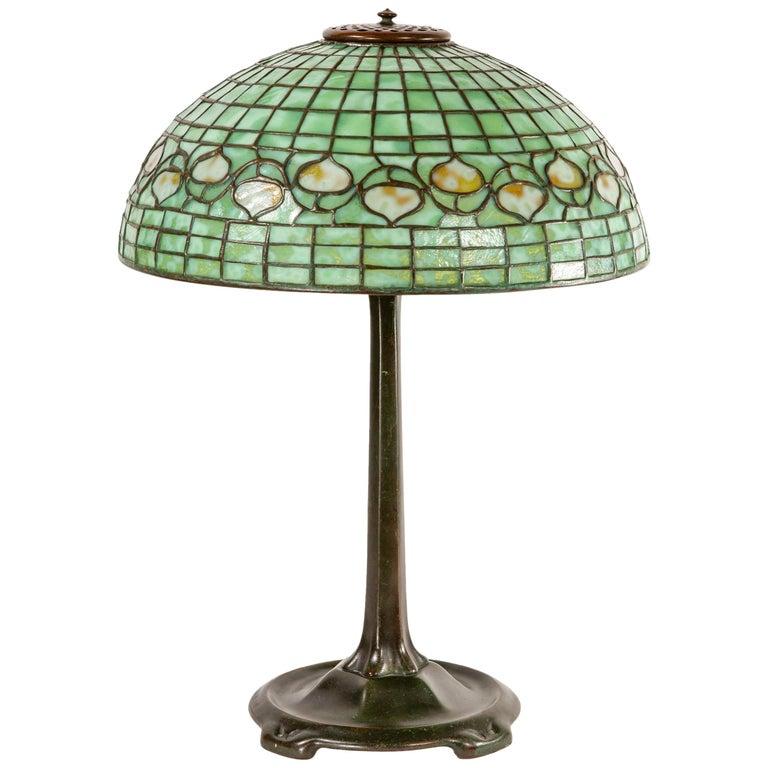 Acorn Table Lamp by Tiffany Studios
