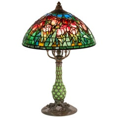 Tulip Table Lamp by Tiffany Studios