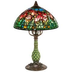 Tulip Table Lamp by Tiffany Studios
